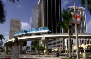 People Mover Construction at Miami International Airport